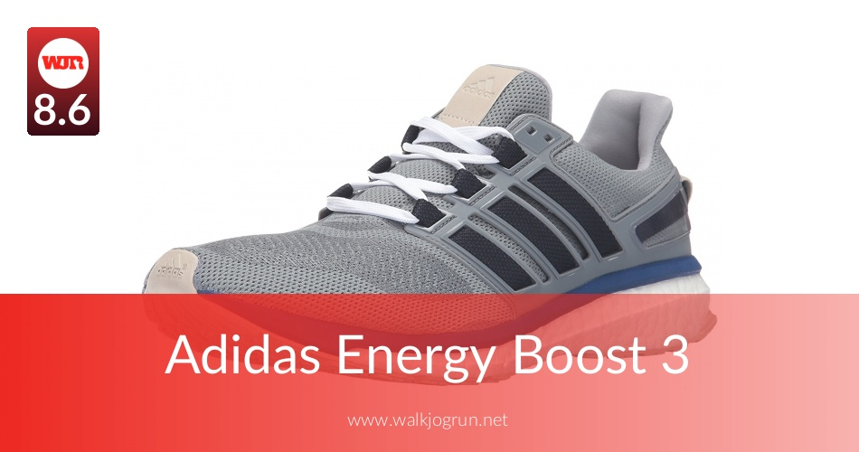 Adidas Energy Boost 3 Tested for Performance in 2018 | NicerShoes