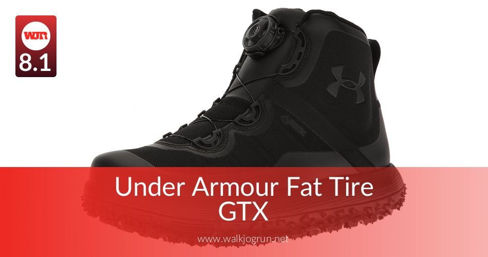 best loved 25398 03c1a Under Armour Fat Tire GTX