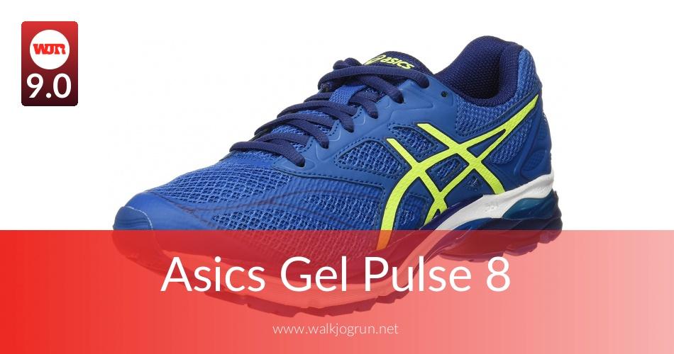 test asics gel pulse 8