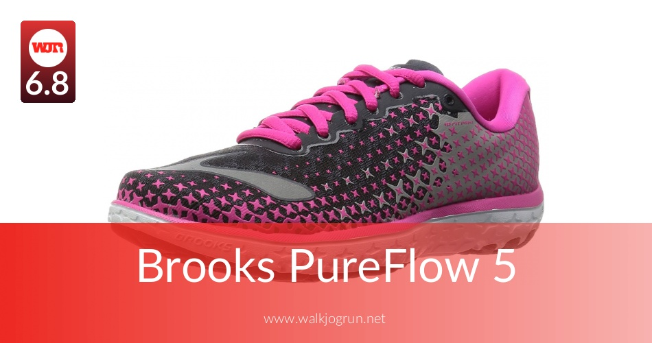 Brooks PureFlow 5 Tested for Performance in 2018 | NicerShoes