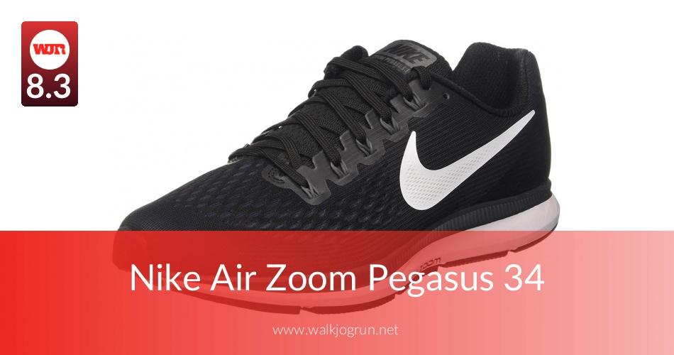 reputable site 04a96 baf0c Nike Air Zoom Pegasus 34 Reviewed for Performance in 2019  N