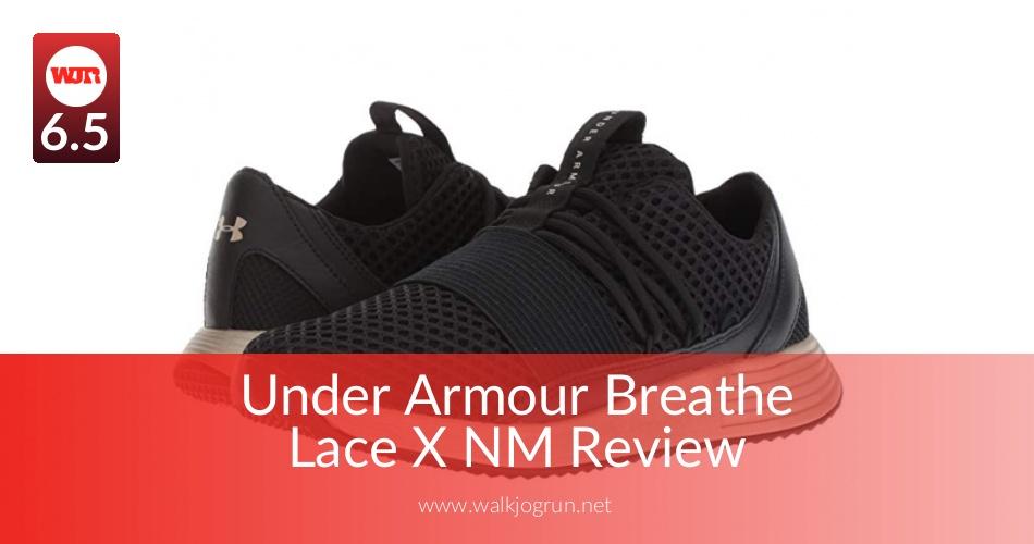 Ua W Lace X NmRun Armour Breathe Under qUVzSMpG