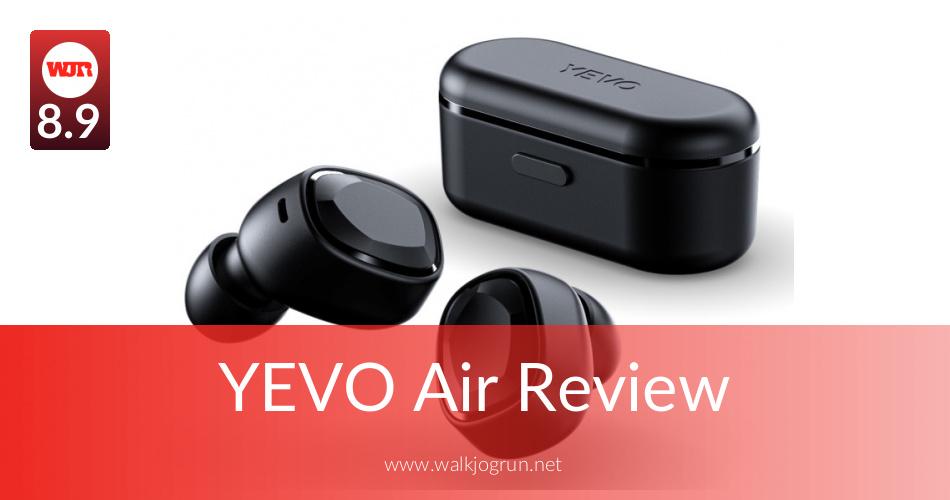 YEVO Air Reviewed & Rated in 2019 | WalkJogRun